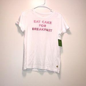 Kate Spade Eat Cake For Breakfast Shirt